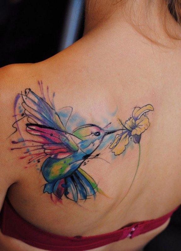 tatuagem tattoo aquarela watercolor inspiration inspiracao - ideia quente (25)
