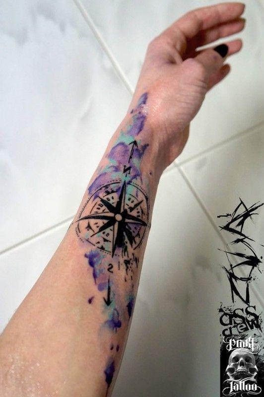 tatuagem tattoo aquarela watercolor inspiration inspiracao - ideia quente (3)