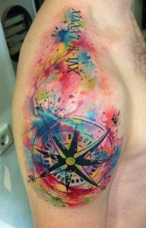 tatuagem tattoo aquarela watercolor inspiration inspiracao - ideia quente (33)