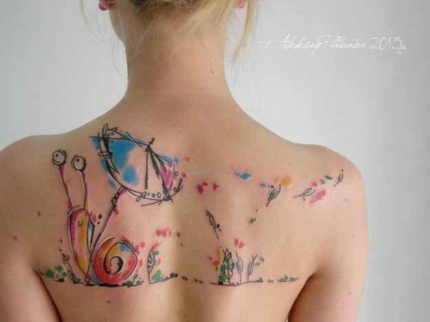 tatuagem tattoo aquarela watercolor inspiration inspiracao - ideia quente (35)