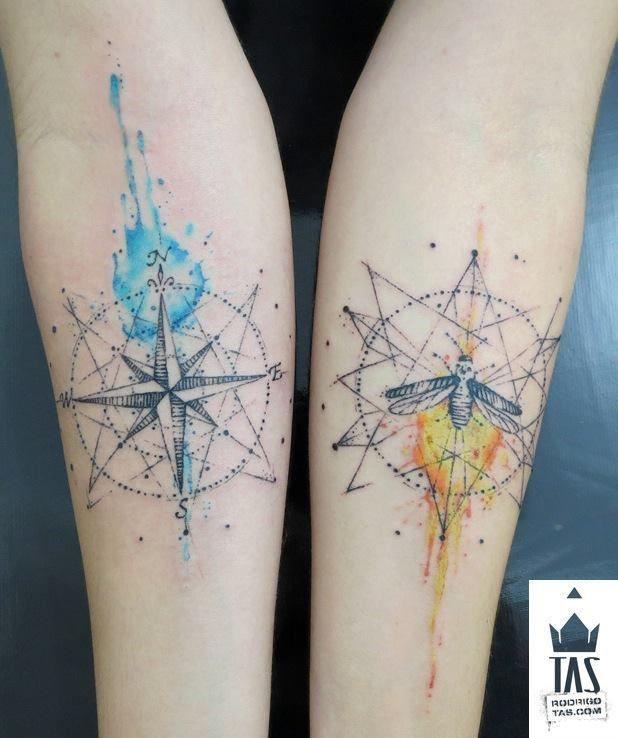 tatuagem tattoo aquarela watercolor inspiration inspiracao - ideia quente (40)