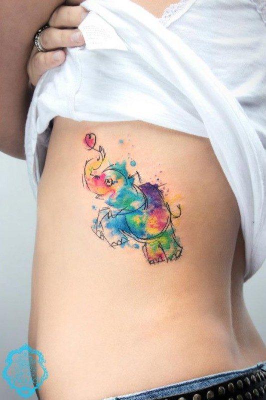 tatuagem tattoo aquarela watercolor inspiration inspiracao - ideia quente (50)