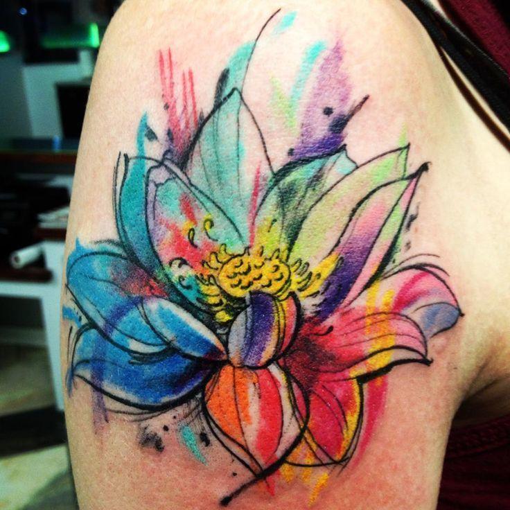 tatuagem tattoo aquarela watercolor inspiration inspiracao - ideia quente (51)