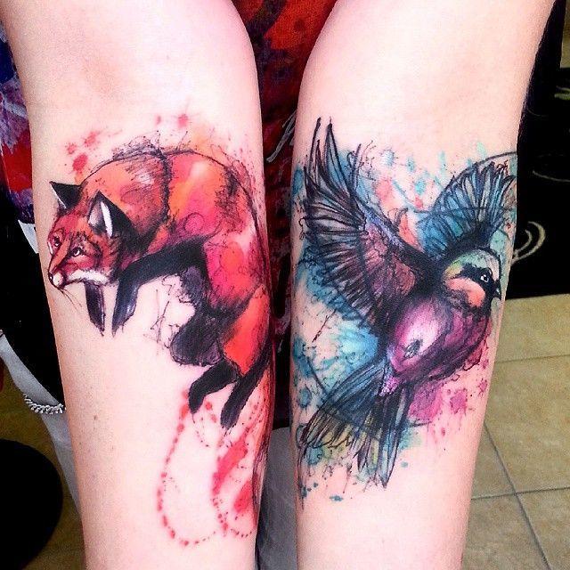 tatuagem tattoo aquarela watercolor inspiration inspiracao - ideia quente (52)