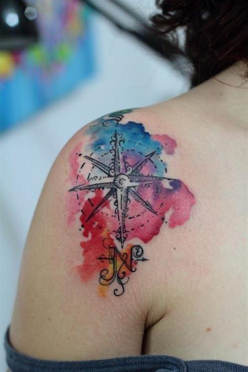 tatuagem tattoo aquarela watercolor inspiration inspiracao - ideia quente (54)