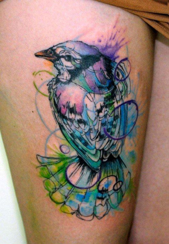 tatuagem tattoo aquarela watercolor inspiration inspiracao - ideia quente (56)