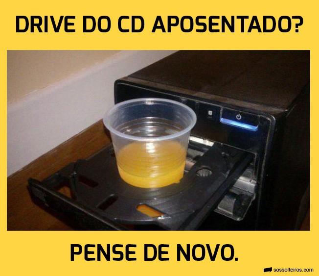 drive cd porta copo