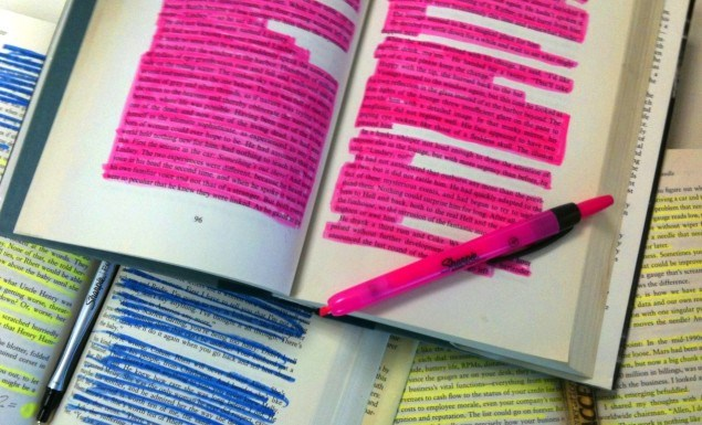 highlight-in-books