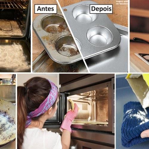 bicarbonato limpeza cozinha