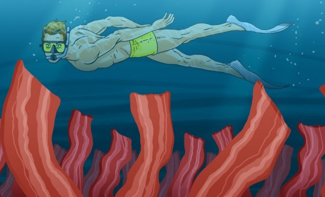 Bacon-Seaweed