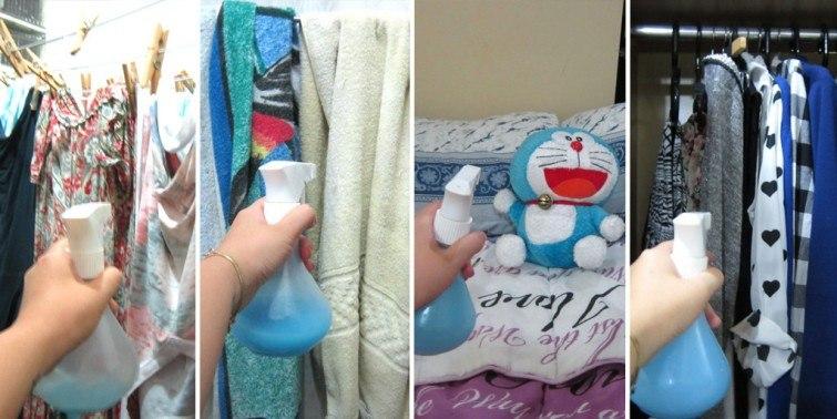spray limpeza cheiro