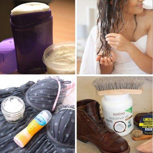usos para oleo de coco