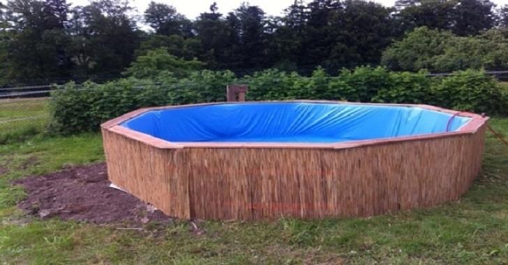 Fa a uma piscina incr vel e barata com pallets for Piscina barata