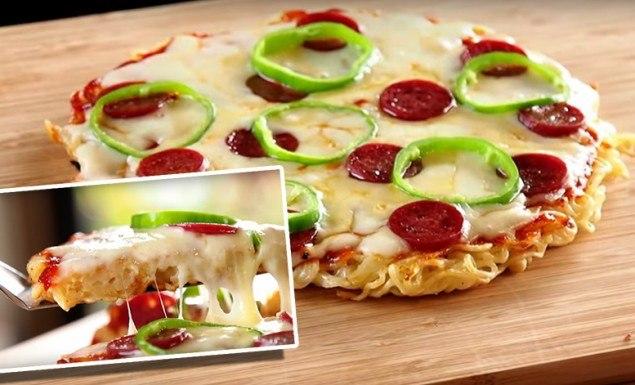 pizza de miojo turbo