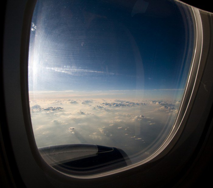 Window Seat Clouds