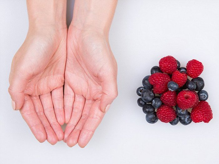 Mixed Berries - feature on food portions