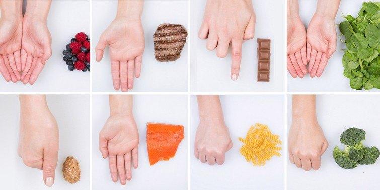 quantidade comida saudavel
