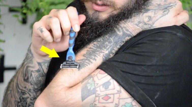 como afiar lamina de barbear gilete