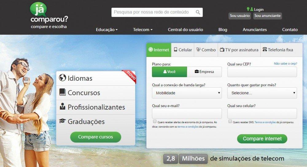 Já Comparou, http://www.jacomparou.com.br/