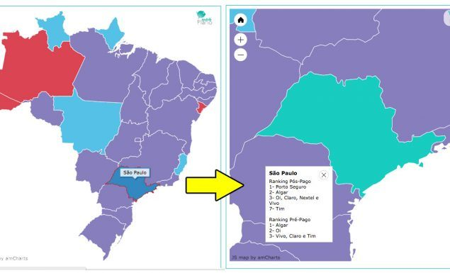mapa interativo operadoras