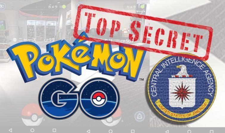 pokemon go cia segredo