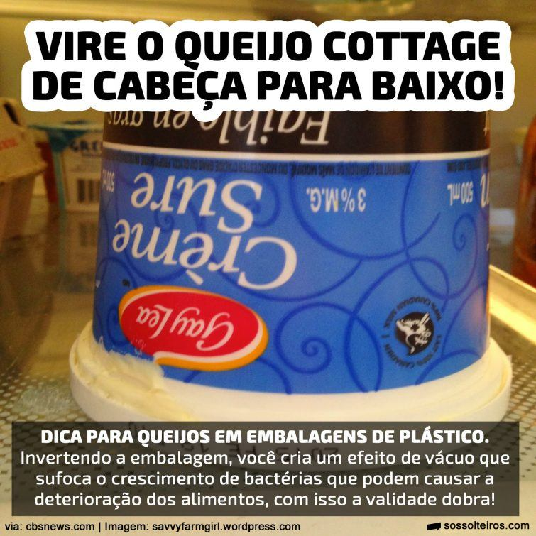 QUEIJO COTTAGE VALIDADE