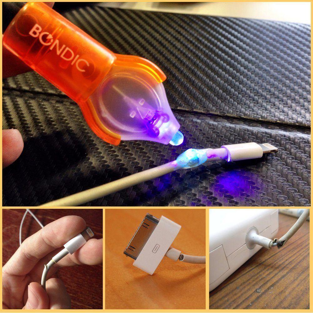 Laughing Squid, http://laughingsquid.com/bondic-a-welder-of-liquid-plastic-that-hardens-under-an-led-ultraviolet-light/