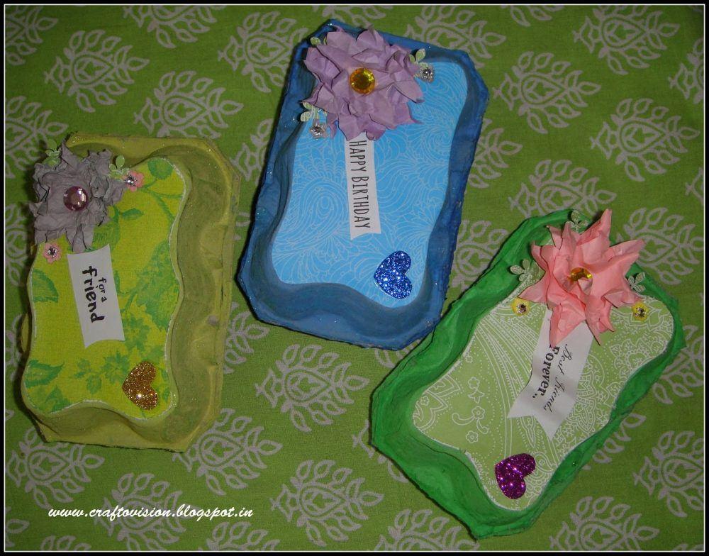 Craftovision, http://craftovision.blogspot.com.br/2013/09/egg-carton-jewelry-boxes.html