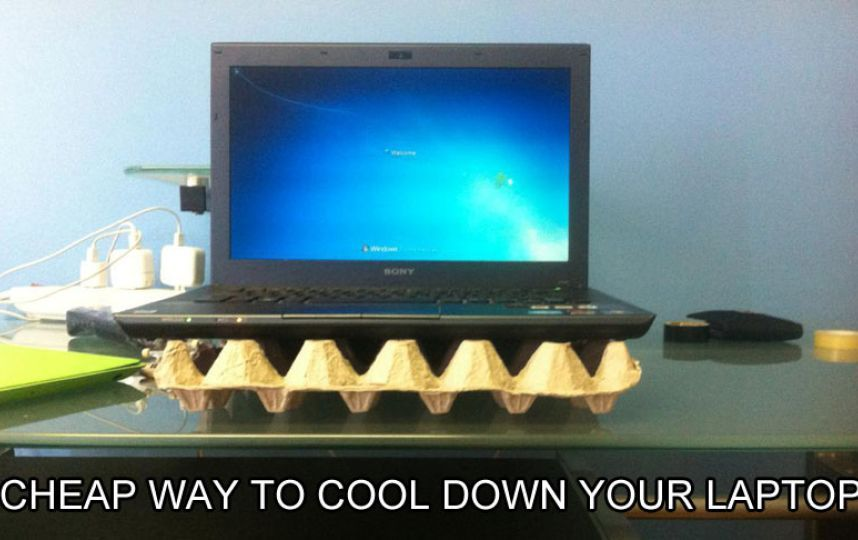 Instructables, http://www.instructables.com/id/Cheap-Way-To-Cool-Down-Your-Laptop/