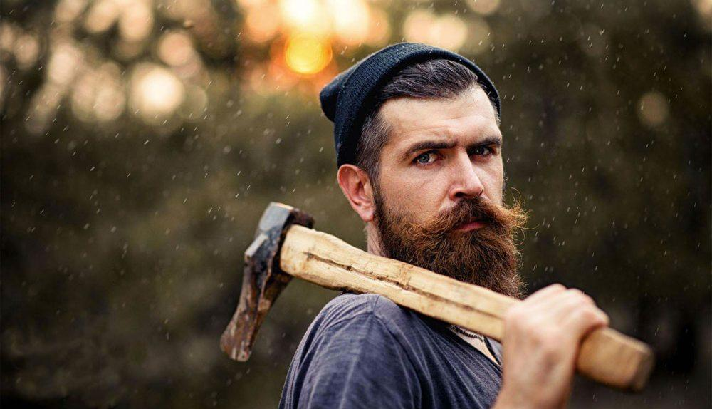 Hipster Beard Club, http://www.hipsterbeardclub.com/severe-bearded-man-with-an-ax-at-sunset/
