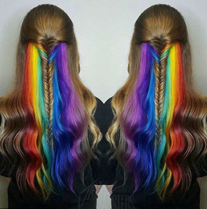 Daily Mail, http://www.dailymail.co.uk/femail/article-3527278/Secret-rainbow-hair-colour-underlights-taking-social-media.html