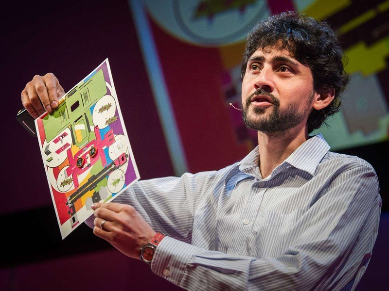 TED, https://www.ted.com/talks/manu_prakash_a_50_cent_microscope_that_folds_like_origami