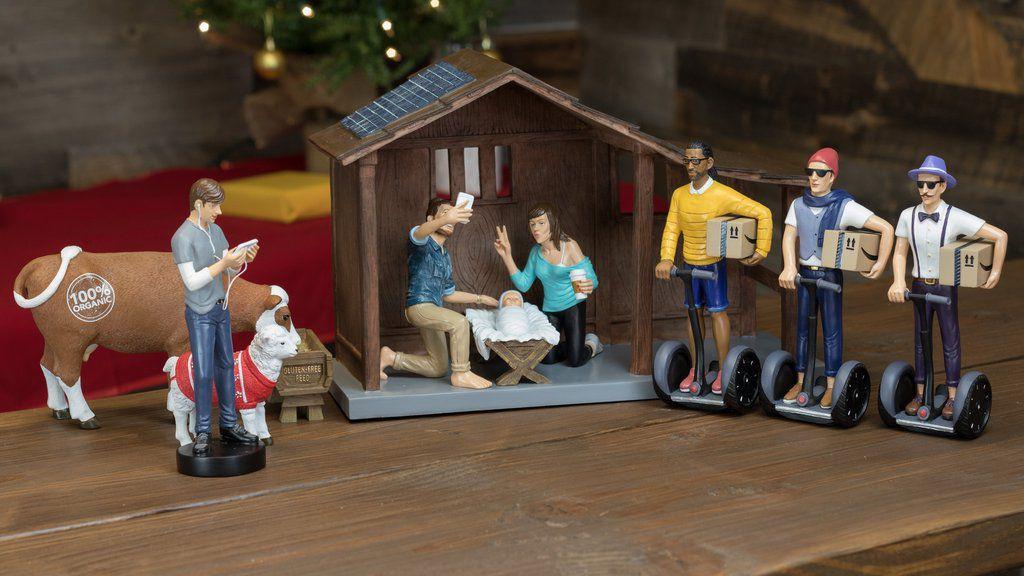 Mashable, http://mashable.com/2016/11/21/modern-nativity-hipster-nativity-set/#_Lak3A0rpkqC