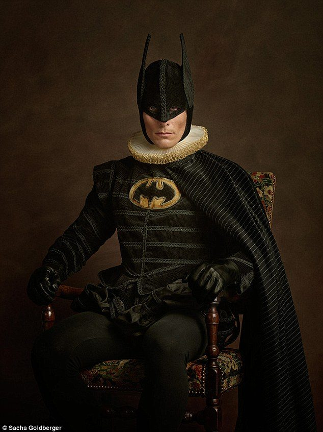 Daily Mail, http://www.dailymail.co.uk/femail/article-2844242/What-Batman-created-16th-century-Photographer-uses-elaborate-costumes-imagine-superheroes-Flemish-paintings.html
