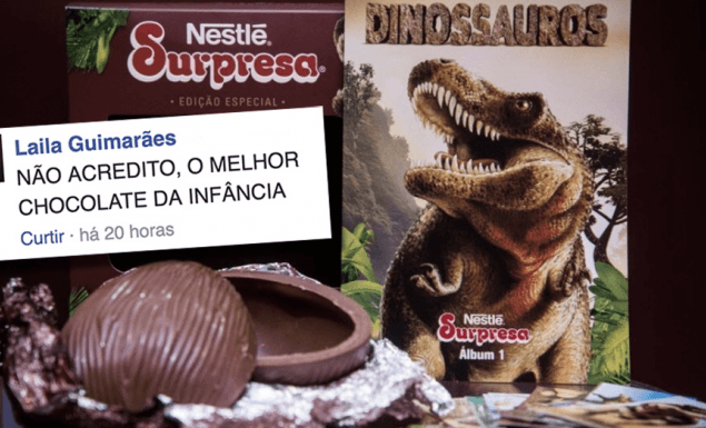 chocolate nestle surpresa pascoa
