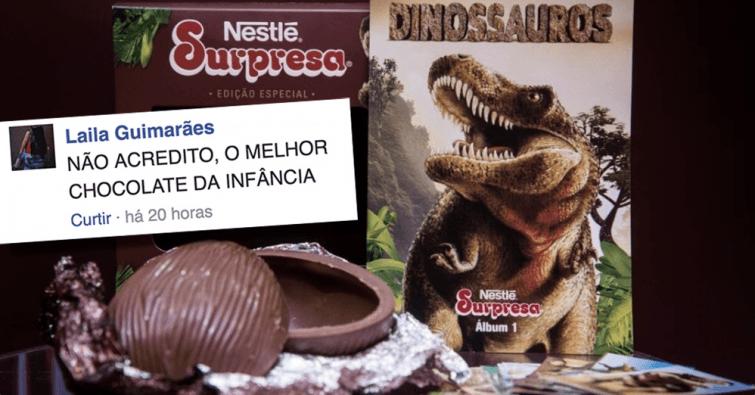chocolate nestle surpresa pascoa