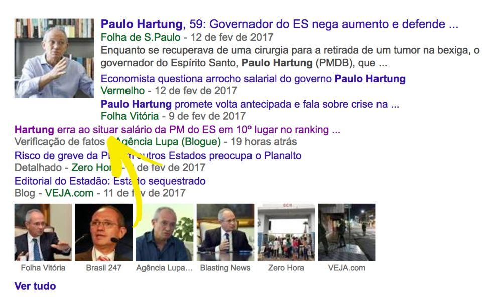 Gizmodo, http://gizmodo.uol.com.br/google-selo-fatos/