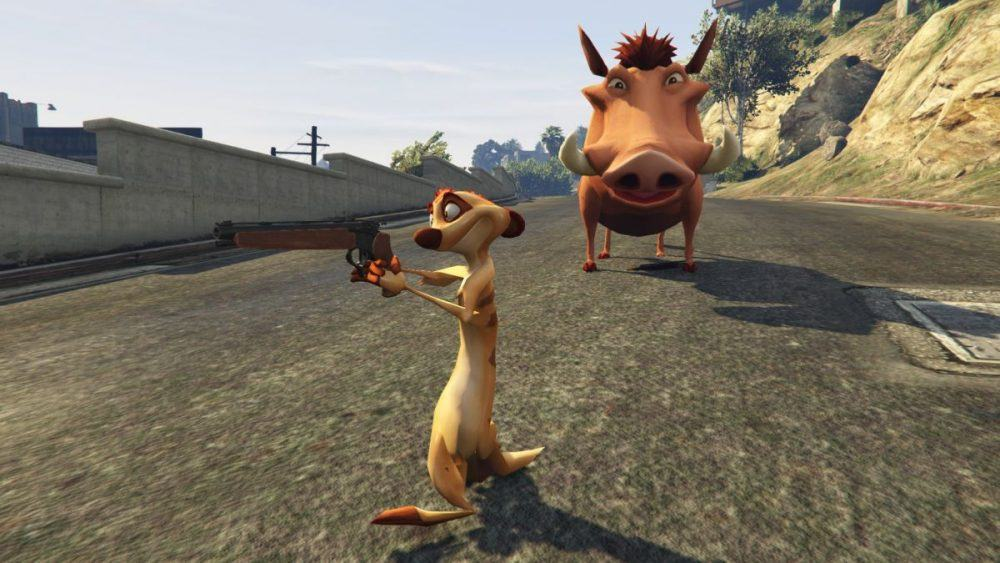 PC Gamer, http://www.pcgamer.com/gta-5-mod-brings-the-lion-king-to-los-santos-with-hilarious-effect/