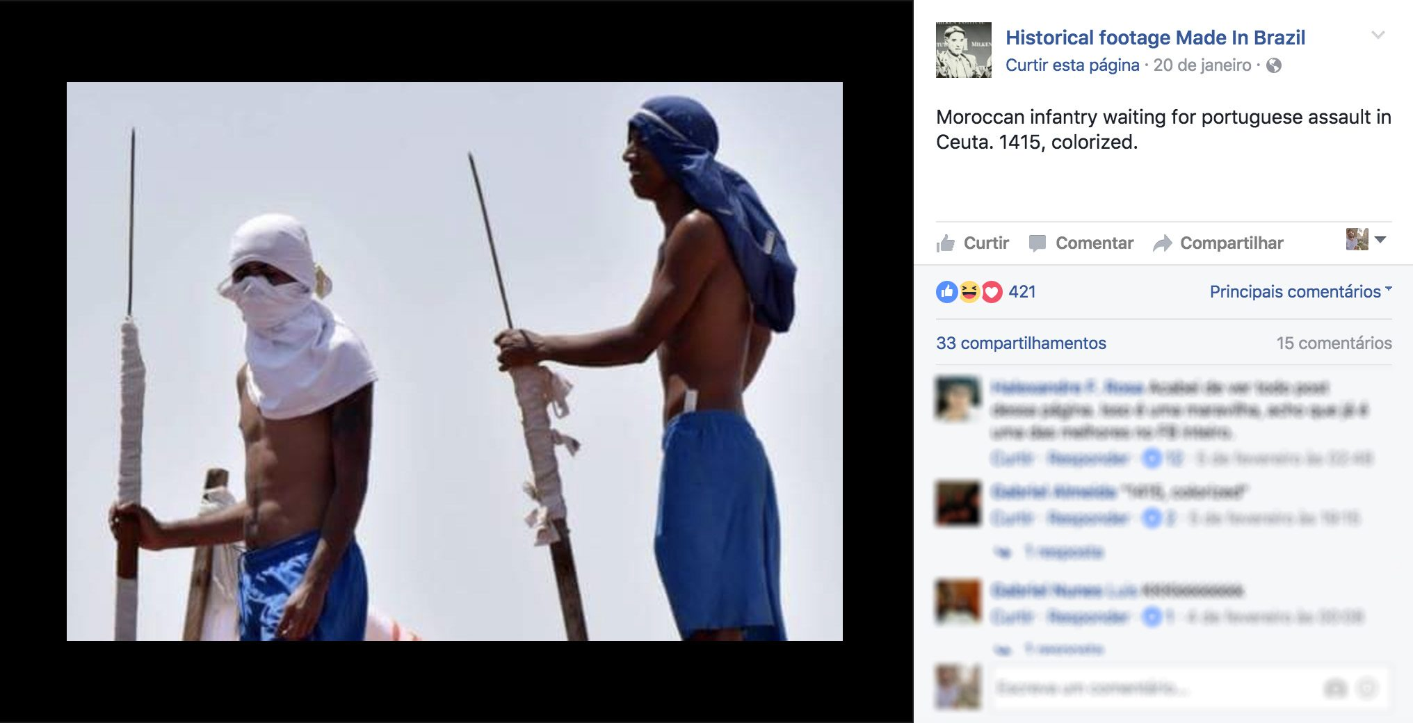 Facebook - Historical Footage Made in Brazil