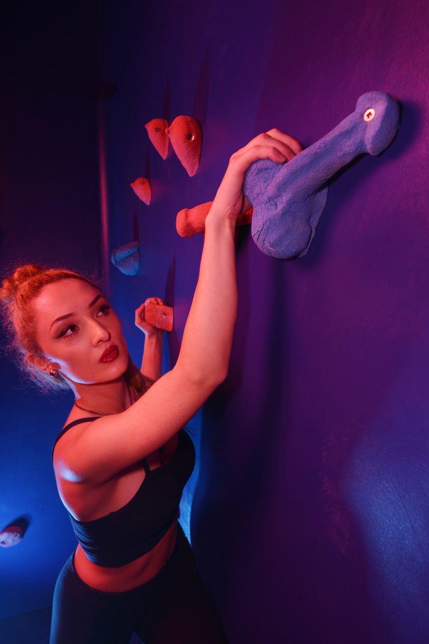 Dezeen, https://www.dezeen.com/2017/01/27/bompas-parr-erotic-climbing-wall-uk-valentines-day-design-installation/