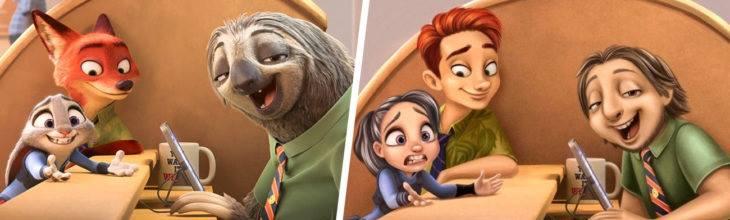La Grande, http://lagrande.emisorasunidas.com/minisitios/luis-cruz/si-algunos-personajes-animados-fueran-seres-humanos
