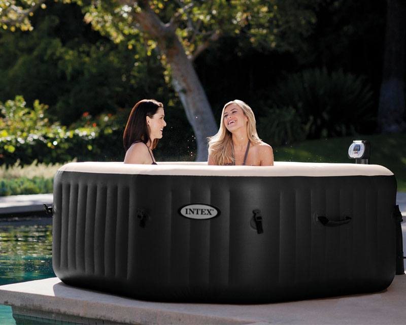 Backyard Pools, https://www.backyardpools.com/Intex-pure-octagon-jet-and-bubble-deluxe-spa/