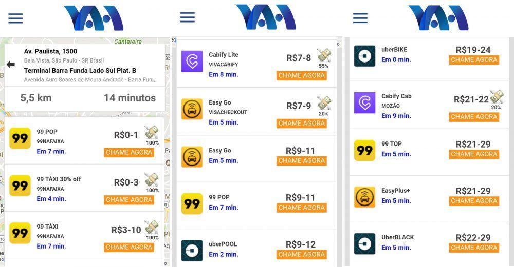 Reprodução | Vah, http://www.appvah.com/