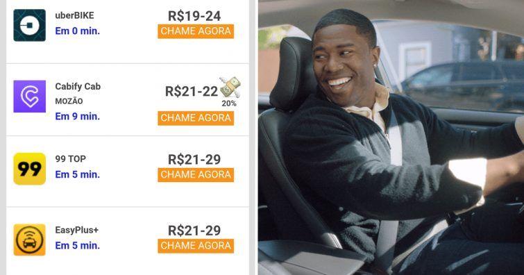 Montagem | Vah e Digital Hot, http://www.digitalhot.com.br/como-ganhar-descontos-uber-ganhe-creditos-para-suas-viagens/