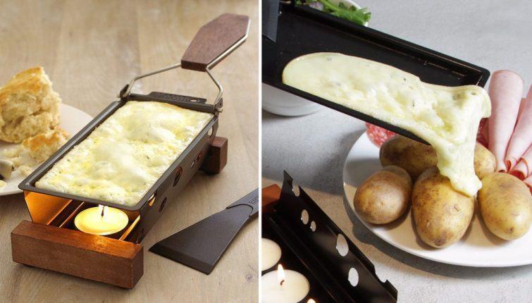 derretedeira de queijo portatil
