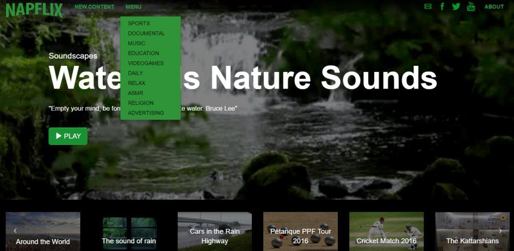 Reprodução | Napflix, http://napflix.tv/