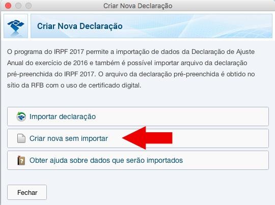 Reprodução - Programa IRPF 2017