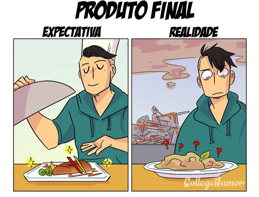 College Humor, http://www.collegehumor.com/post/7043947/cooking-expectation-vs-reality