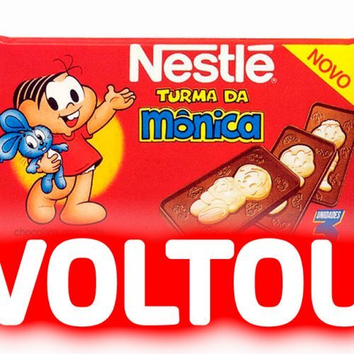 CHOCOLATE TURMA DA MONICA VOLTOU
