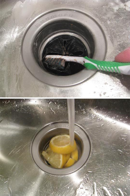 Apartment Therapy, http://www.apartmenttherapy.com/how-to-clean-your-kitchen-sink-136771